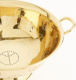 Sir Madam Brass Peace Colander