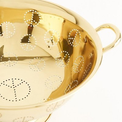 Brass Peace Colander