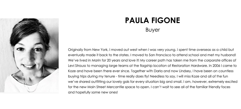 Paula Figone Bio