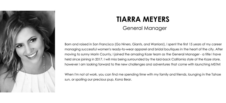 Tiarra Meyers Bio