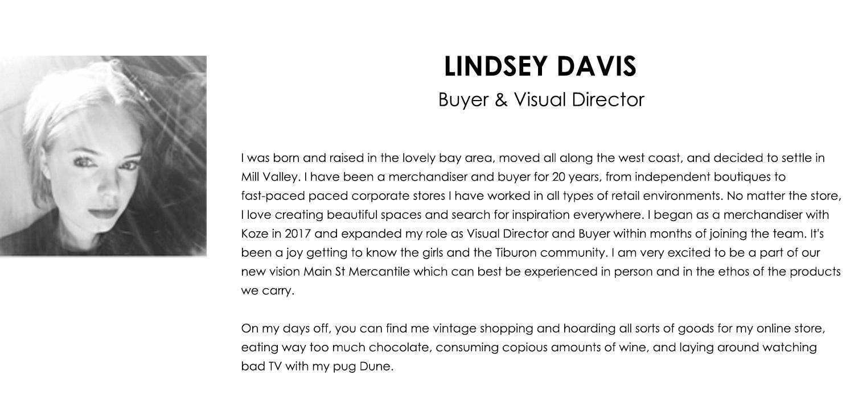 Lindsey Davis Bio
