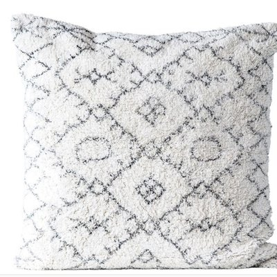 Square Cotton Tufted Pillow