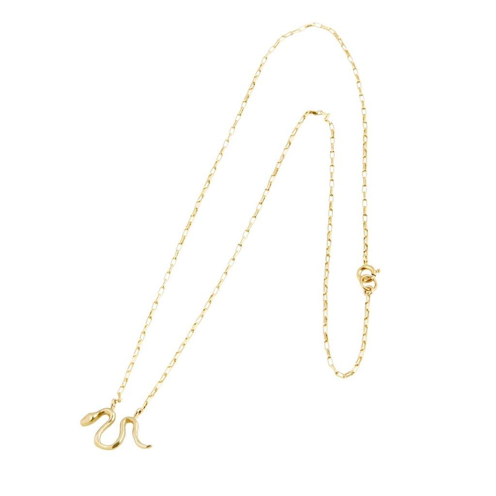 Marisa Mason Little Snake Necklace