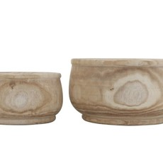 Paulownia Wood Planter Small