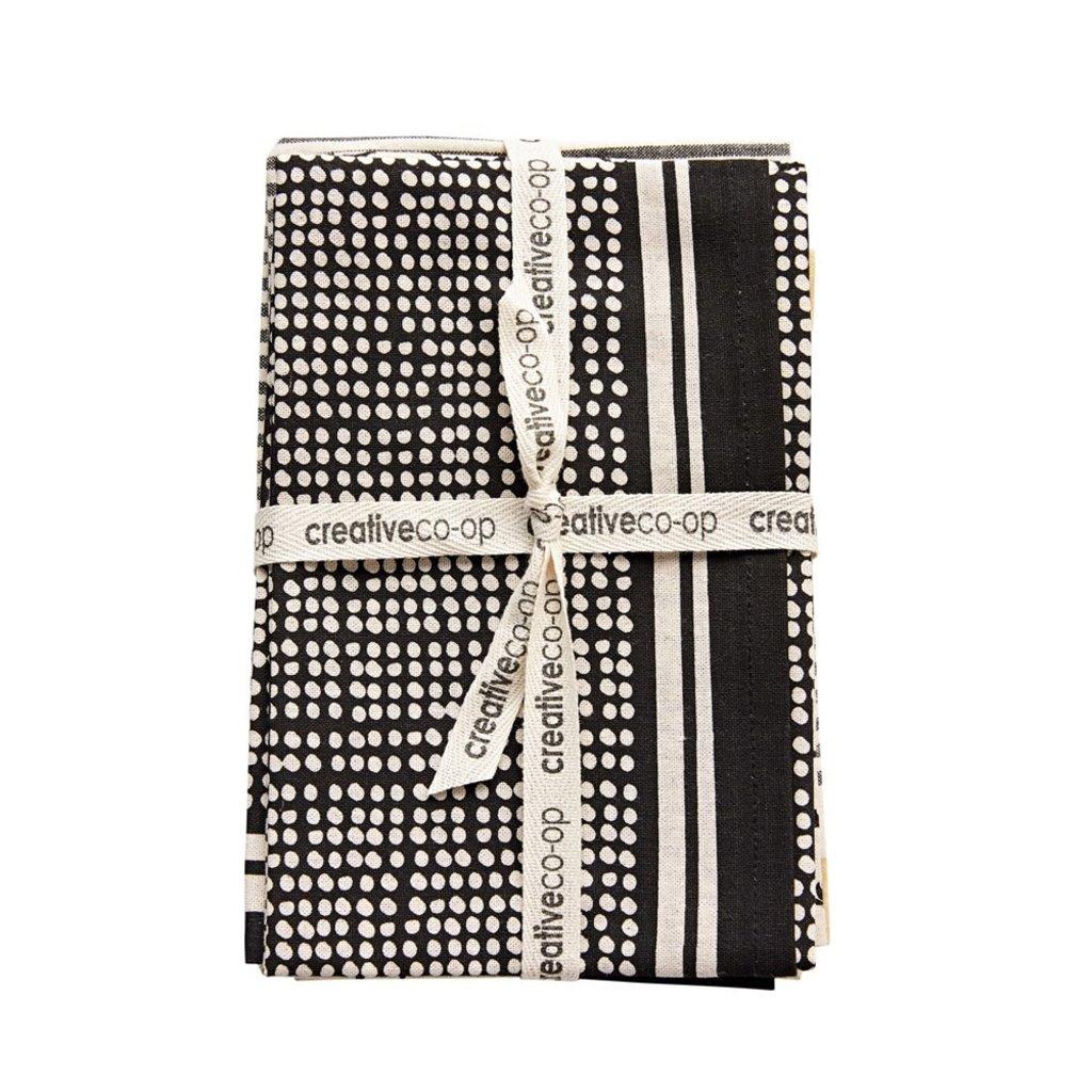 Cotton Tea Towels, Set of 3