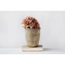 Grooved Terracotta Planter