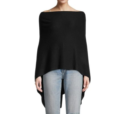 Cashmere Drapped Topper
