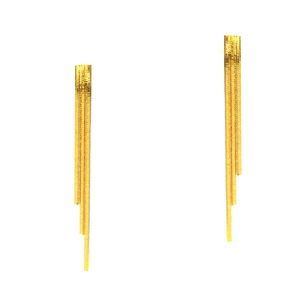 Tai Triple Linear Earrings