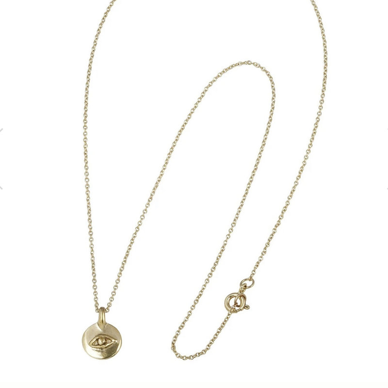 Marisa Mason Viginia Eye Necklace
