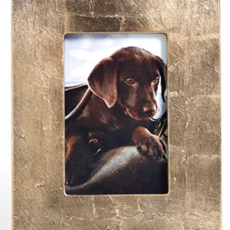 Zodax Gold Leaf Photo Frame