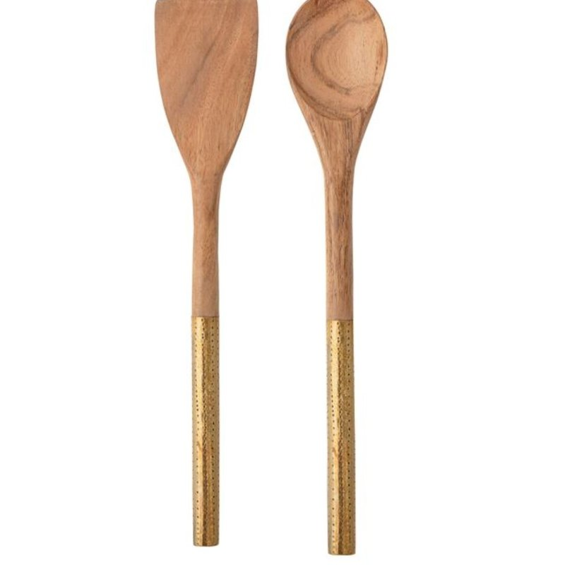 Acacia Wood Utensils Set of 2