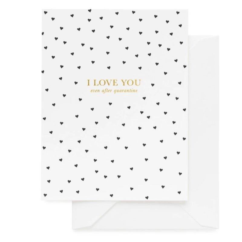 Sugar Paper I Love You, Quarentine
