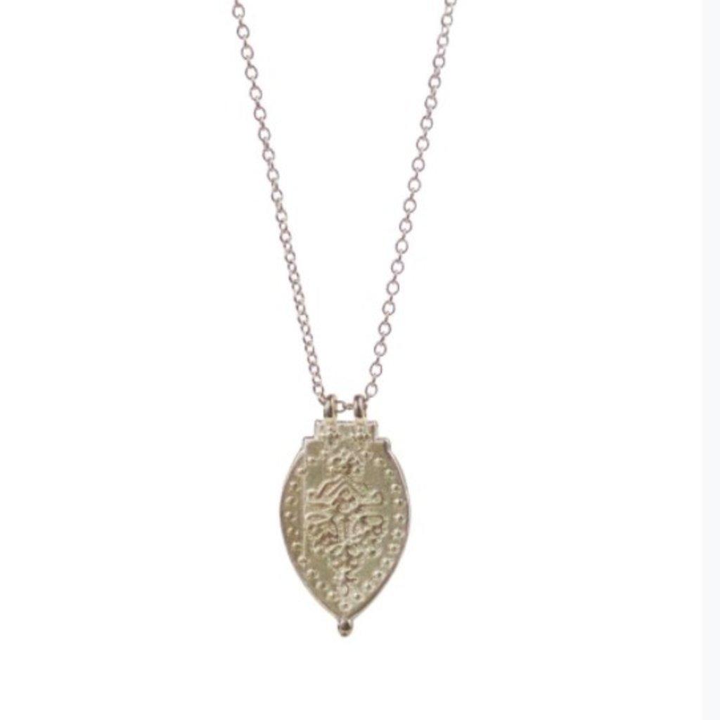 Lulu Prayer Necklace Sterling Silver