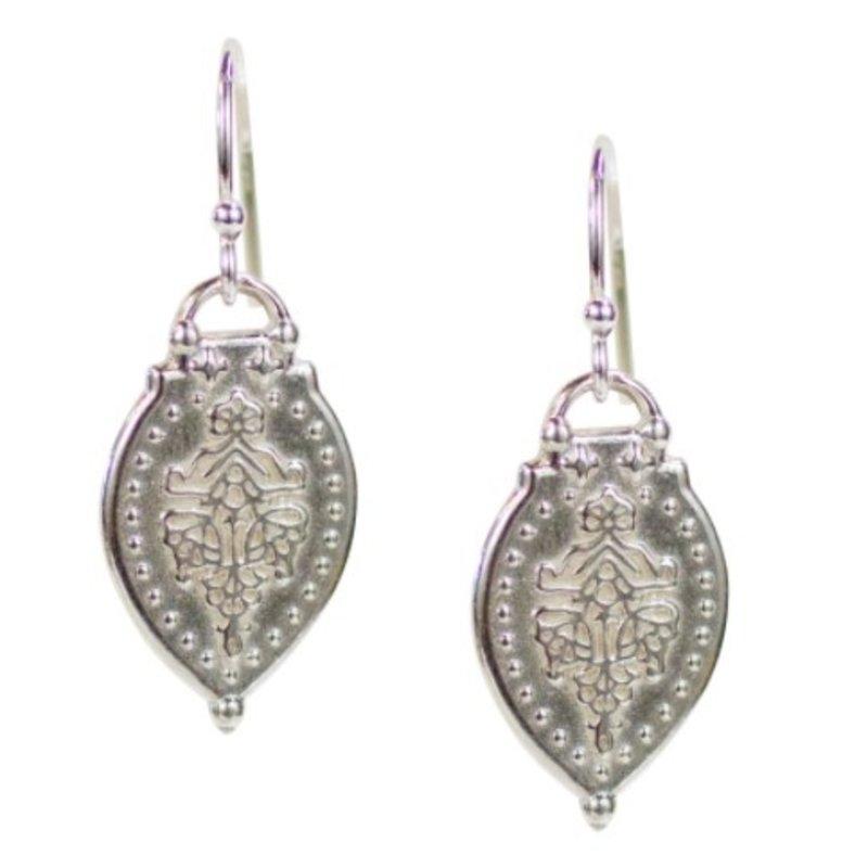 Lulu Prayer Earrings Sterling Silver