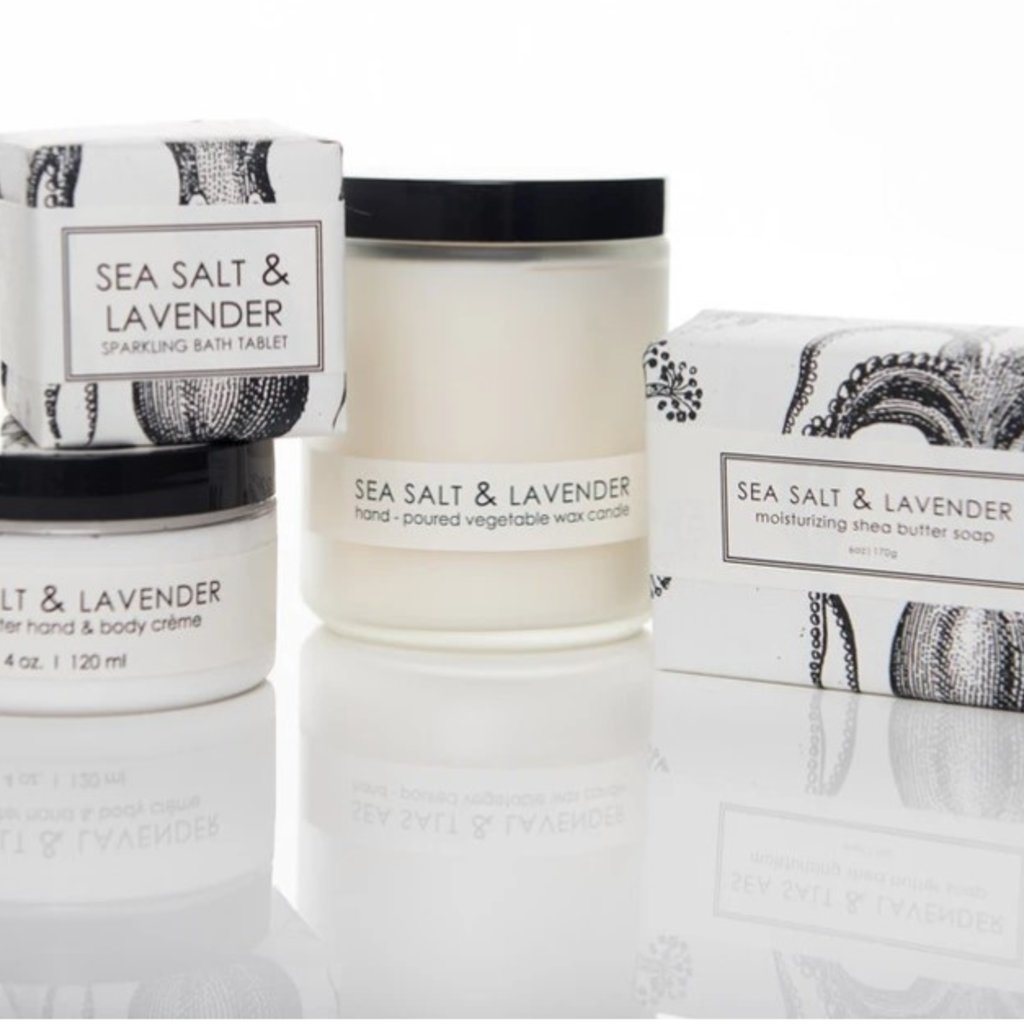 Sea Salt & Lavendar Spa Set