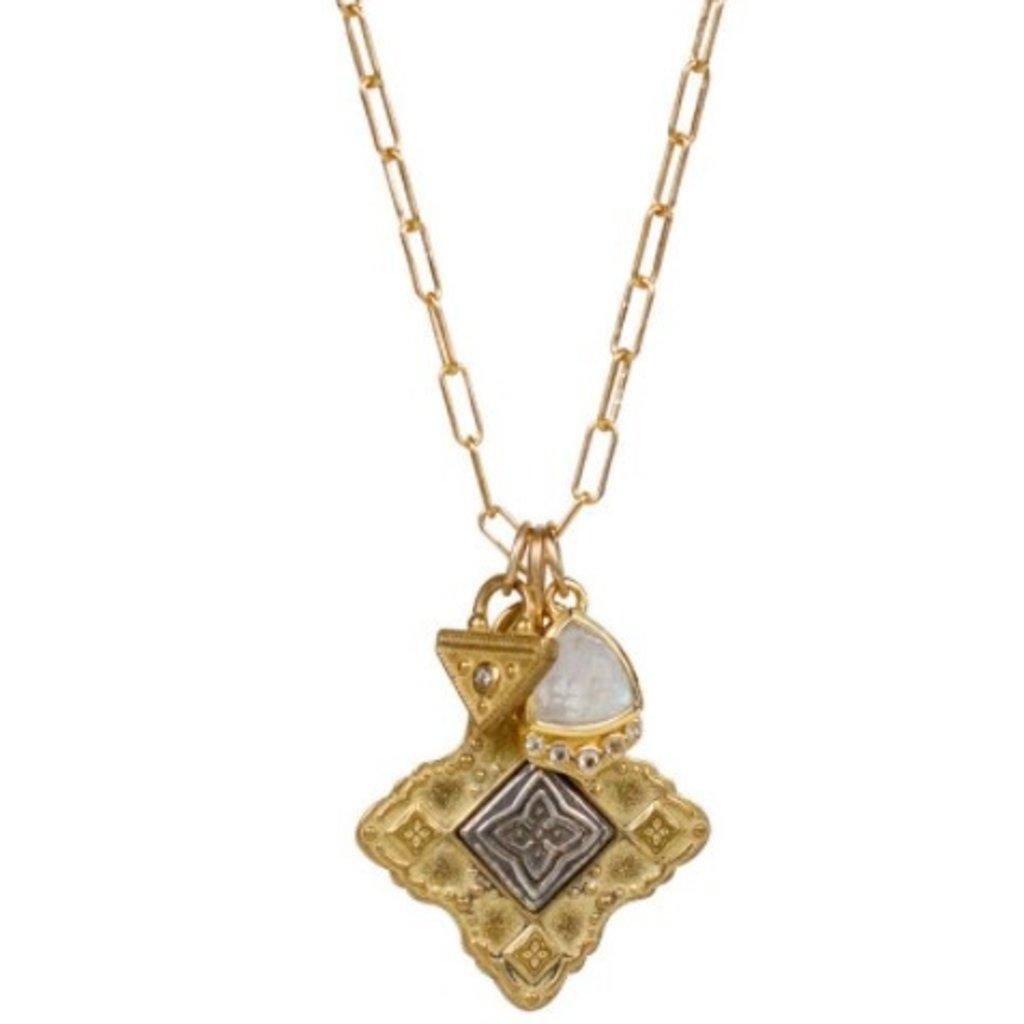 Lulu New Moon Necklace Samadhi