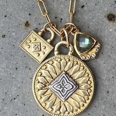 Lulu New Moon Necklace Surya