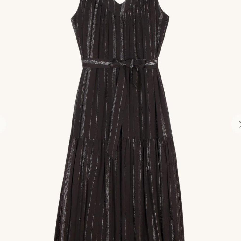 FRNCH ADELYNE WOVEN DRESS-BLACK