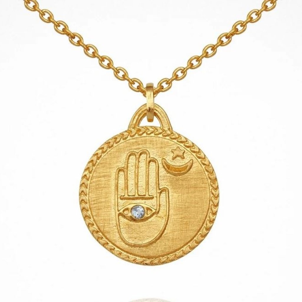 Temple Of The Sun Safiya Gold Necklace