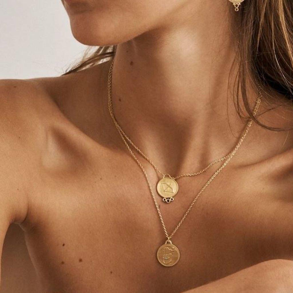 Safiya Gold Necklace