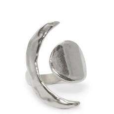 Amanda Hunt Equinox Silver Ring Size 7