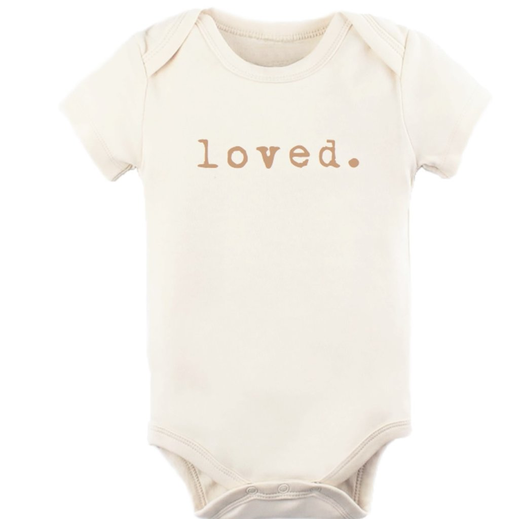 Tenth & Pine Loved - Short Sleeve Bodysuit | Clay