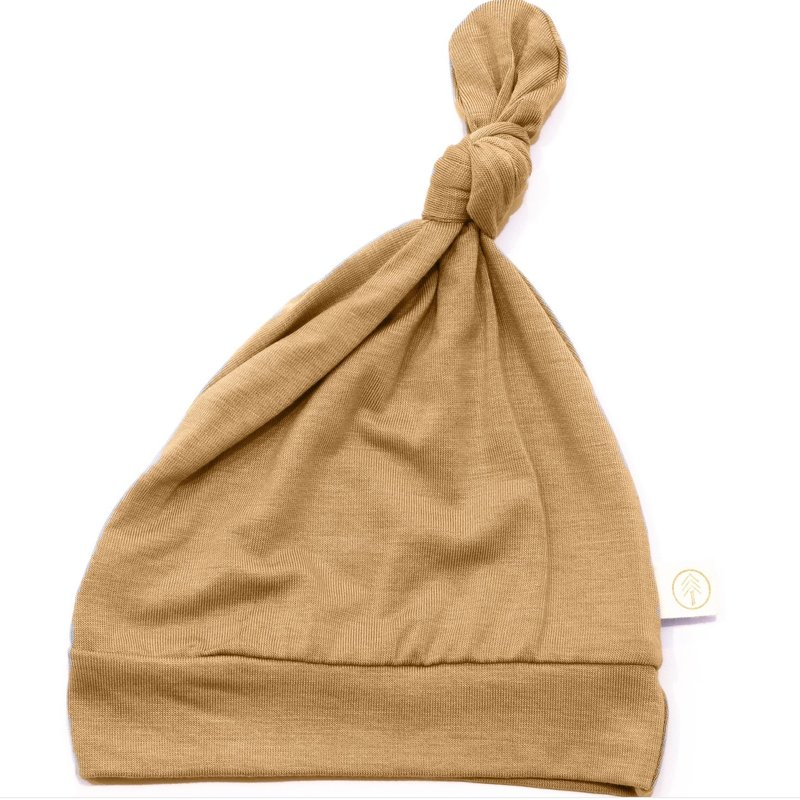 Tenth & Pine Bamboo Knot Top Hat 0/6 mo | Clay