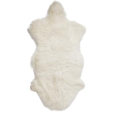 Mongolian Lamb Rug Natural