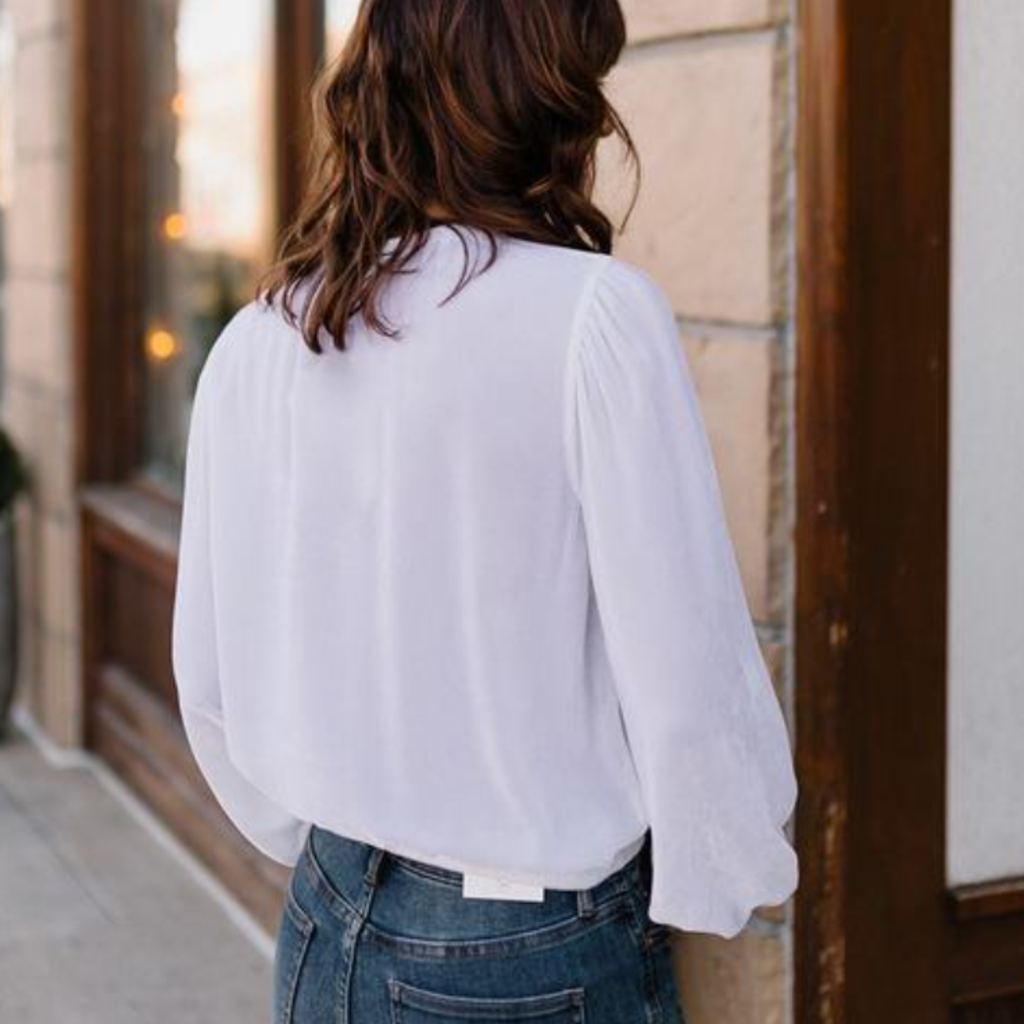 Elastic Shirred Top