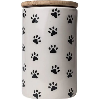 Pawz Treat Jar Grey