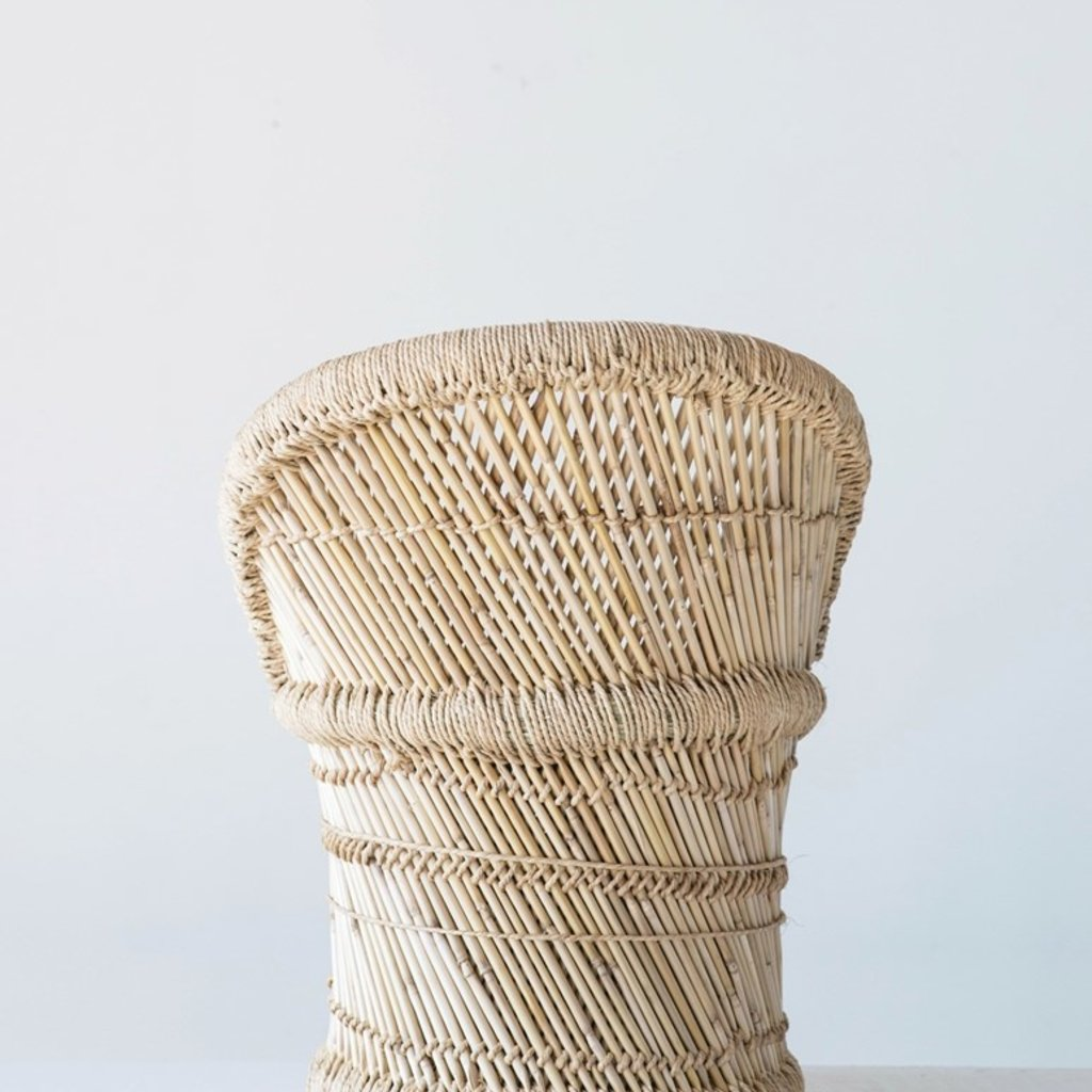 Bamboo & Rope Chair (kid size)