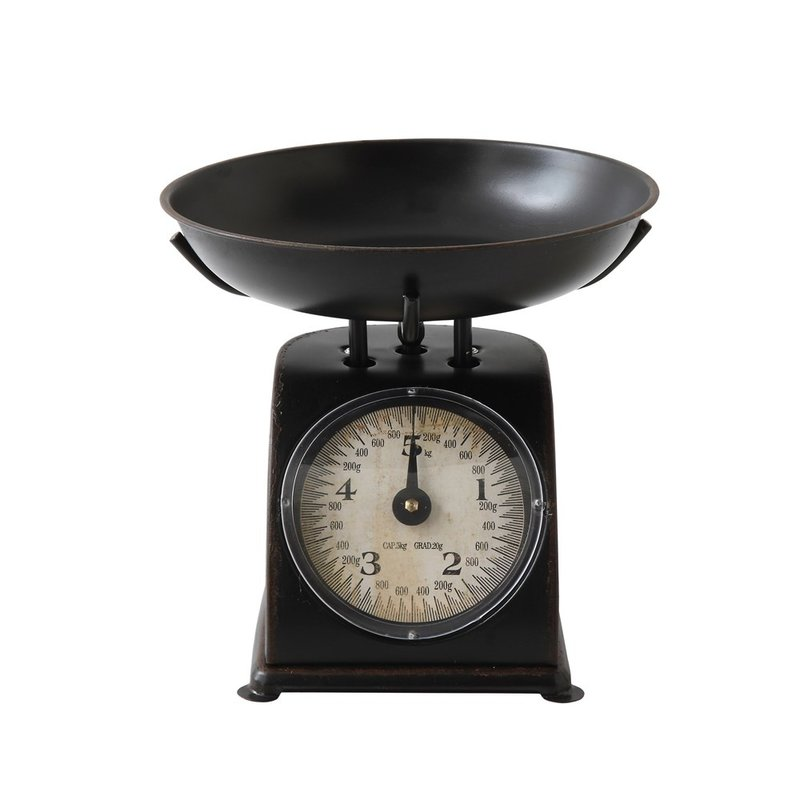 Antique Black Metal Scale