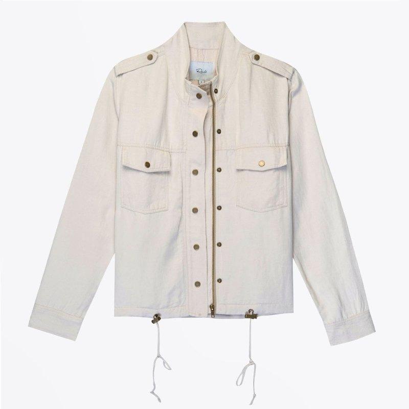 Rails Collins Lightweight Zippered Jacket Bone