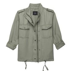 Rails Collins Lightweight Zippered Jacket Sage