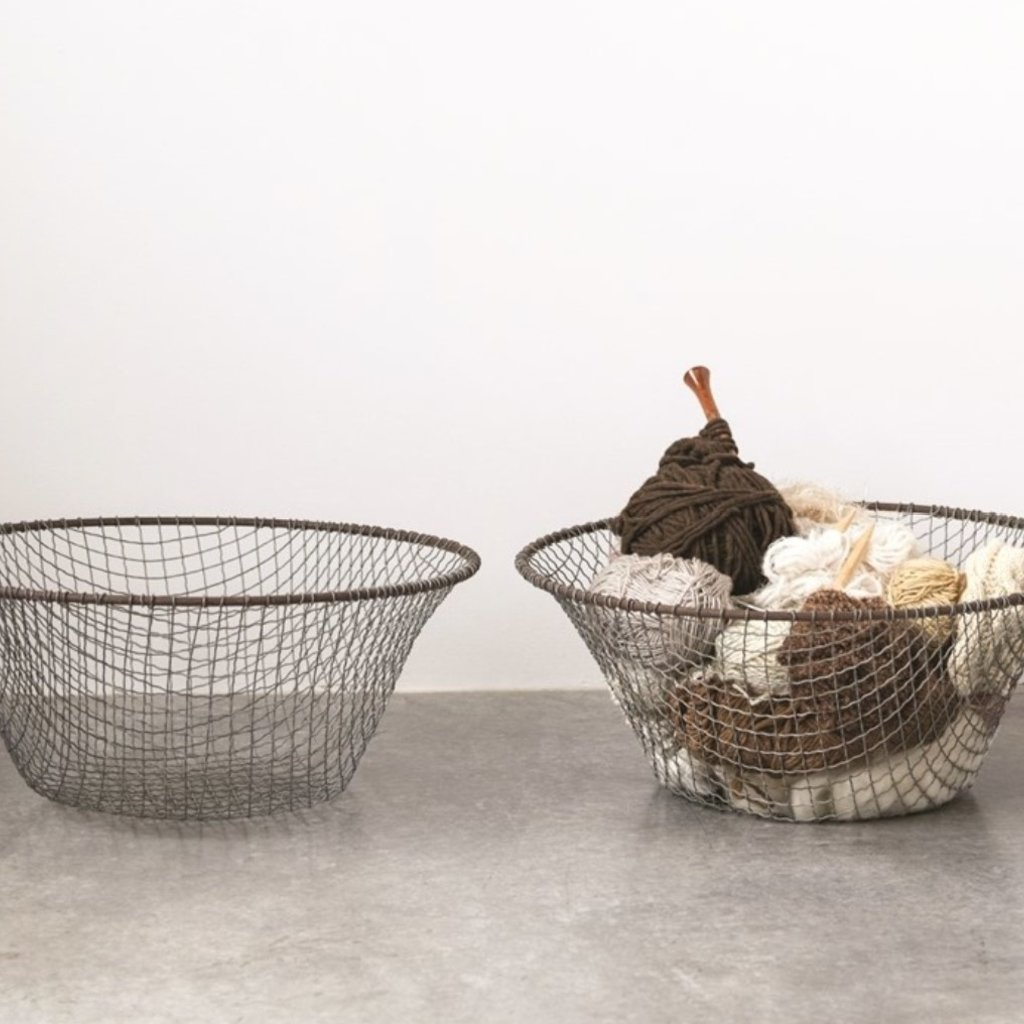 Handmade Wire Basket