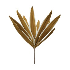 Faux Reed Leaf Stem
