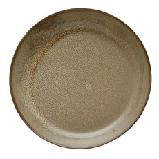 Stoneware Serving Bowl, Reactive Glaze
