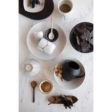 Stoneware Bowl, Reactive Glaze