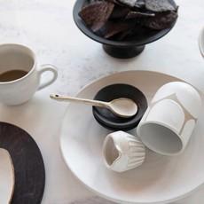 Stoneware Spoon, Reactive Glaze, Set of 2
