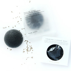 Nash and Jones Charcoal Konjac Face Sponges w/ Paper Box