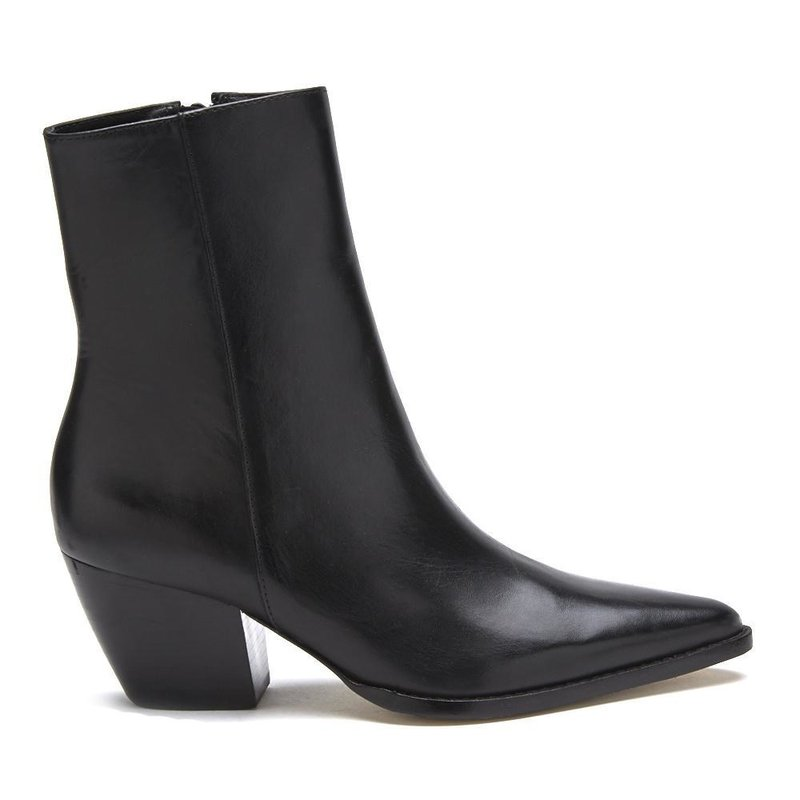 Caty Smooth Black Boot