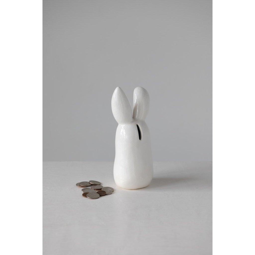 Terra Cotta Bunny Bank
