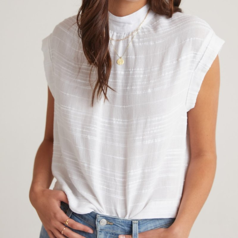 Bella Dahl CAPSLV BUTTON BACK BLOUSE