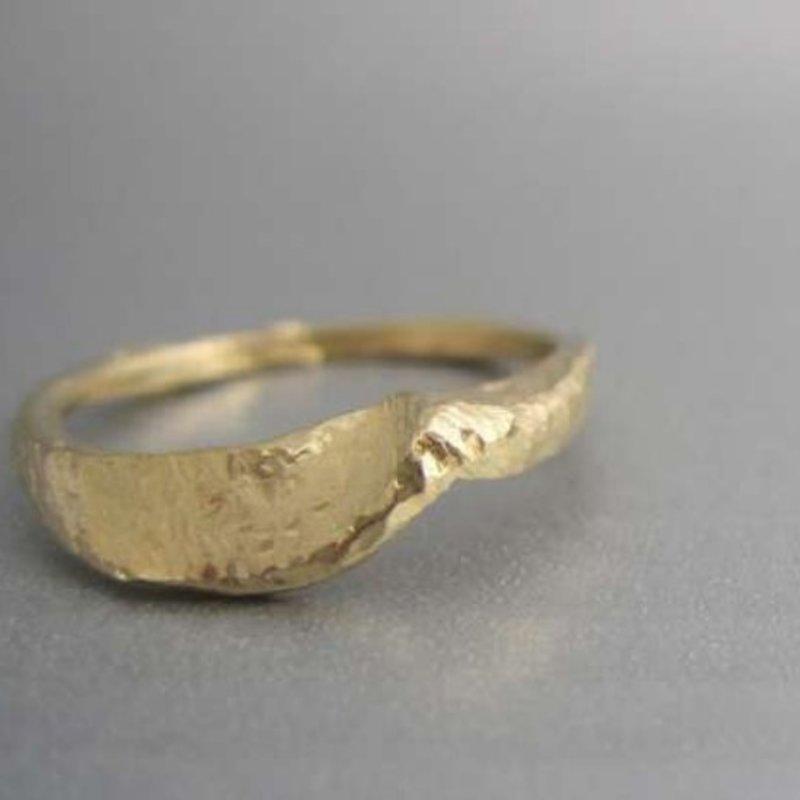 Maddalena Bearzi Onda Bronze Ring Size 7