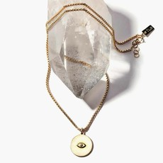 ILD Sister Sun All Seeing Eye Necklace
