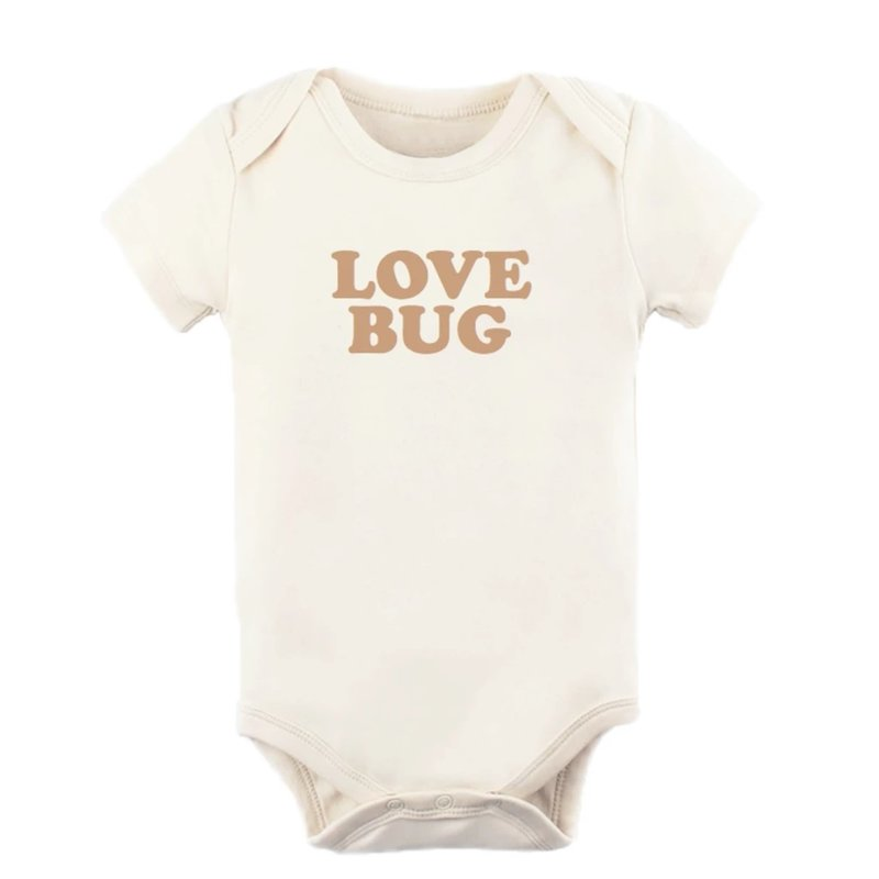 Tenth & Pine Love Bug - Short Sleeve Bodysuit | Clay