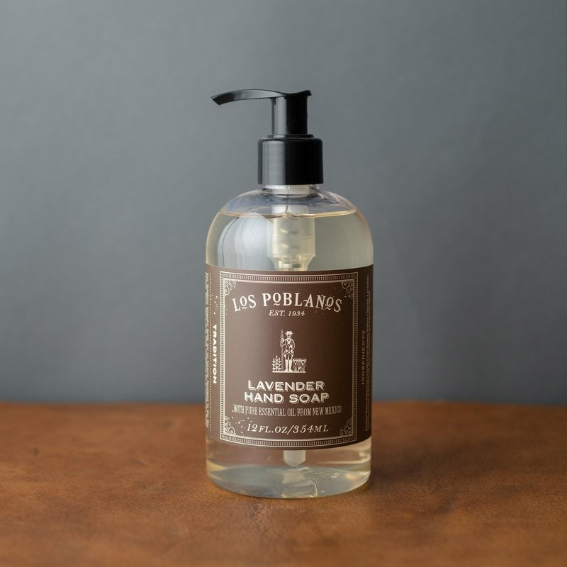 Los Poblanos Liquid Hand Soap 12oz