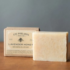 Los Poblanos Lavender Honey Handmade Soap