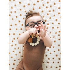 Hayes Silicone + Wood Teether Ring