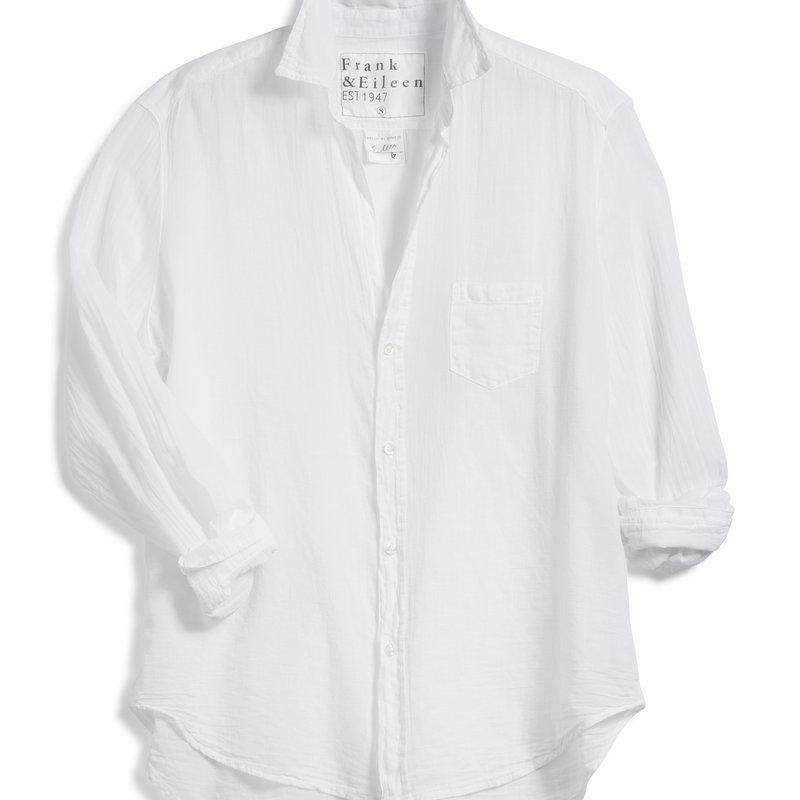 Frank & Eileen Eileen Woven Button Up White